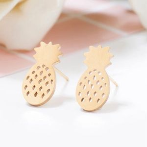 Jewelry - Pineapple post earrings